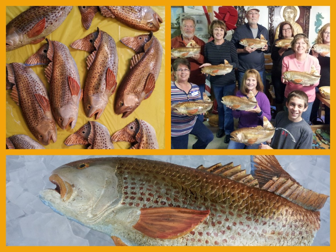 redfish collage 2